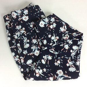 Banana Republic Avery Floral Ankle Pant Size 4